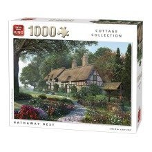 King Hathaway Best Jigsaw Puzzle (1000 Pieces)