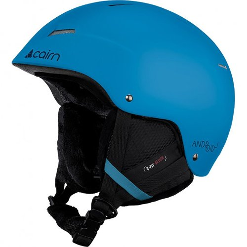Cairn Android J Matt Azure Adult Snow Sport Helmet Unisex Ski Kid Junior 51/53cm