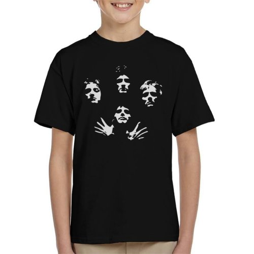 Queen Bohemian Rhapsody Icon Silhouettes Kid's T-Shirt