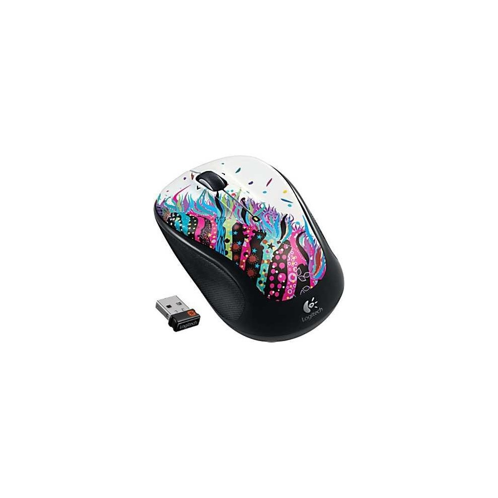 Logitech Wireless Mouse M325 Celebration Black
