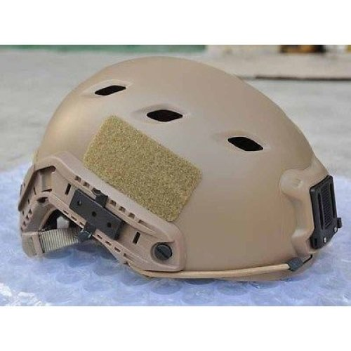 Airsoft Tan Sand De Swat Core Ops   Helmet Jump Uk Fast Delivery Rail