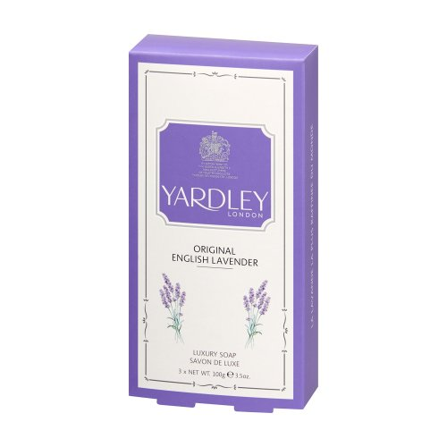 Yardley London Original English Lavender Soap 3 x 100g