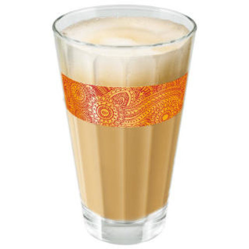 Tassimo Chai Latte lemongrass Glass