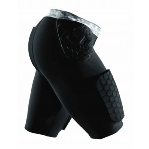 Mcdavid 1399828 Hex Dual-Density Thudd Short, Black - Small
