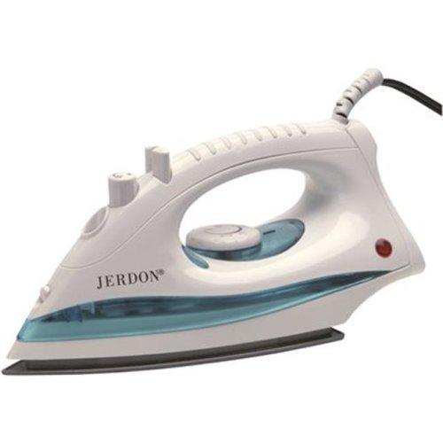 Jerdon 3570944 Hotel Midsize Dual Auto Shut-Off Iron, White - 1200 watts