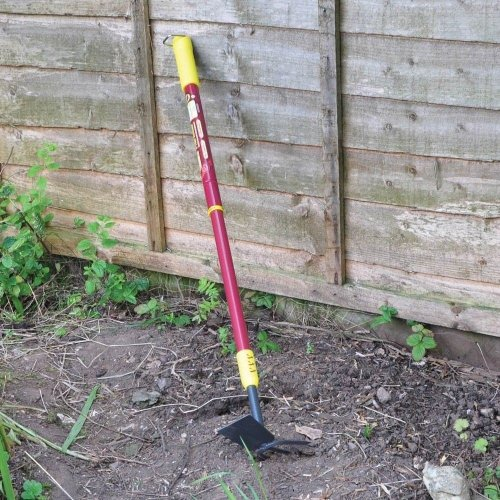 Kingfisher Deluxe Telescopic 3 Prong Weeder and Hoe Garden Mobility Tool Weed