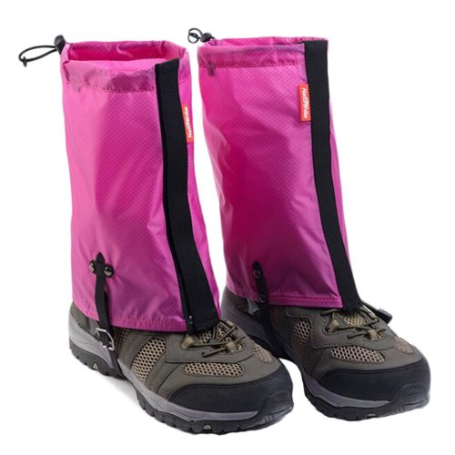 Waterproof Hiking/Climbing/Camping/Skiing Shoes Gaiters - M Rose