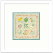 D72-74051 - Dimensions Stamped Embroidery - Baby Sampler