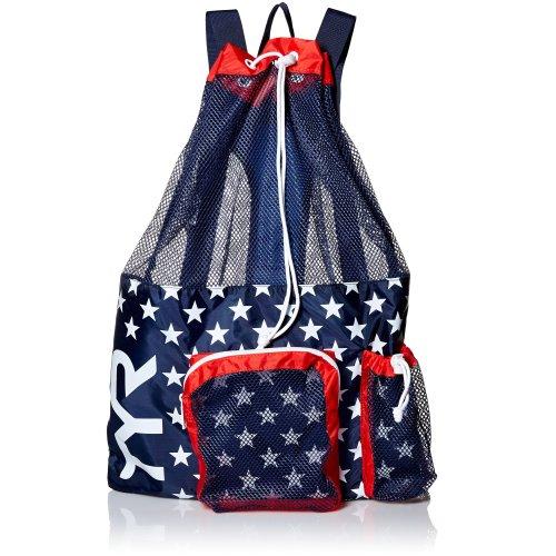 TYR Big Mummy Backpack Mesh Bag - Usa Print