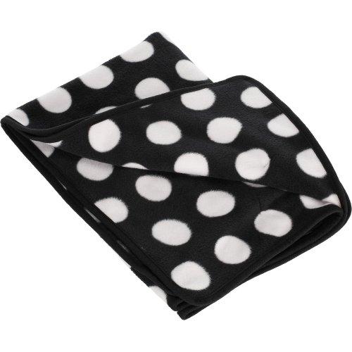Obaby Fleece Baby Blanket Dotty