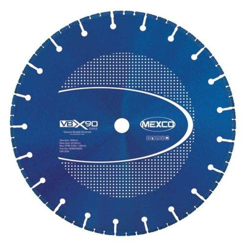 Mexco 115Mm Vacuum Brazed Blade Multi-Use X90 Grade 22.23Mm Bore Diamond Blade