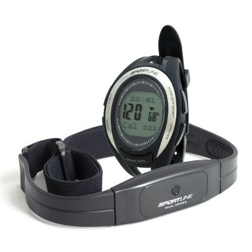 Sportline 670 Cardio Connect Womens Heart Rate Monitor With Speed And Distance Tracking