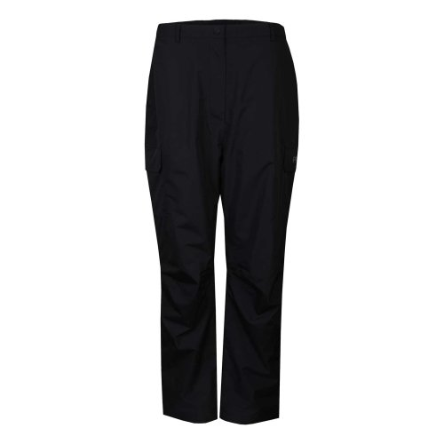 ProQuip Golf Womens Sophie Waterproof Trousers Fly Zip Black
