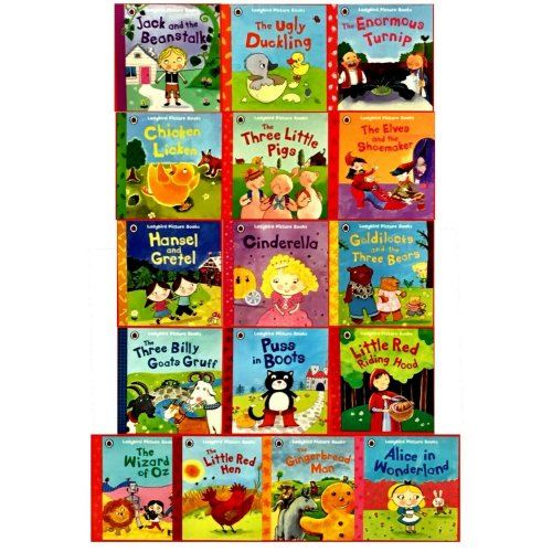 Nicola Baxter 15 Picture Books Collection Set Ladybird First Favourite Tales NEW