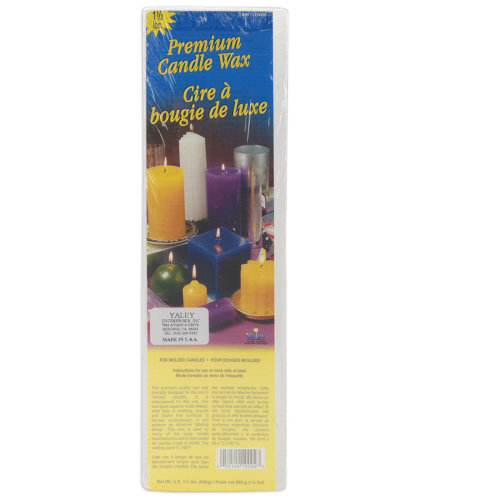 Premium Candle Wax 1.5lb Block-White