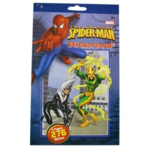 Marvel Spider-Sense 276pc Spiderman Sticker Pad - Spiderman Stickers Set