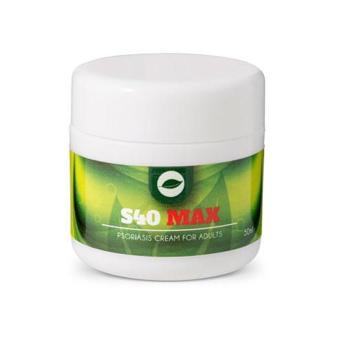 S40 MAX Psoriasis Cream – 50ml | Natural Psoriasis Cream