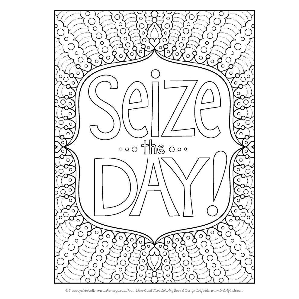 More Good Vibes Coloring Book Coloring Is Fun