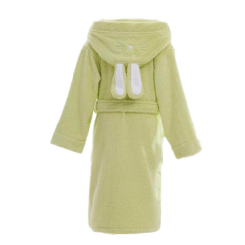 7e5d14c74d Children Cotton Bathrobe Soft Swim Bath Gown Robes Pajamas with Hat-A09 on  OnBuy
