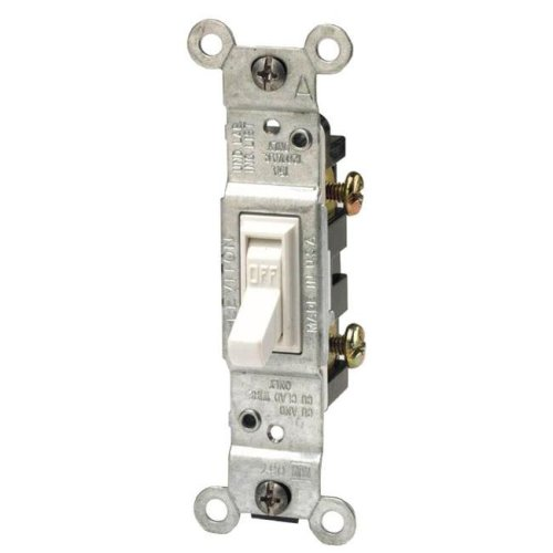 Leviton White Residential Grade AC Quiet Switches Toggle 228-1451-2W