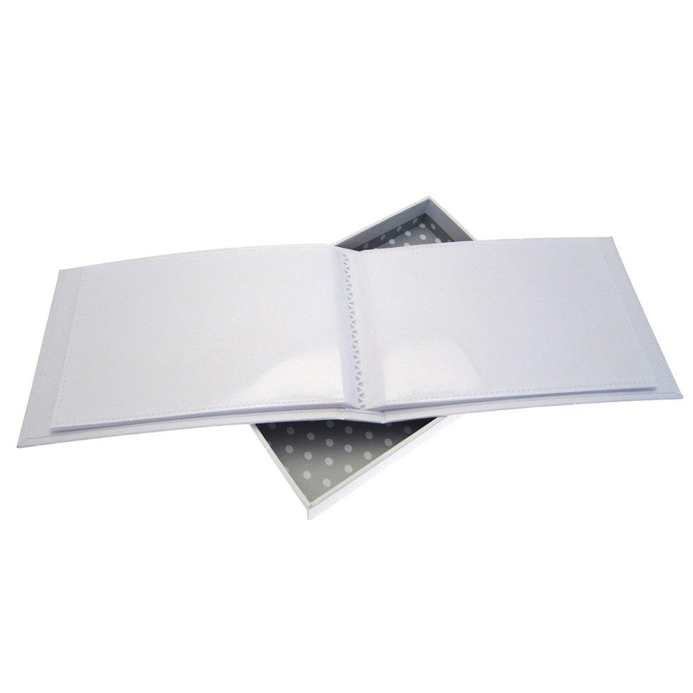 White Cotton Cards Nanas Boasting Book Silver Toys Tiny Album