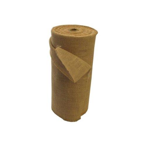 LA Linen 15IN-Burlap-50Yard 50 Yards Burlap Fabric, Natural - 15 in.