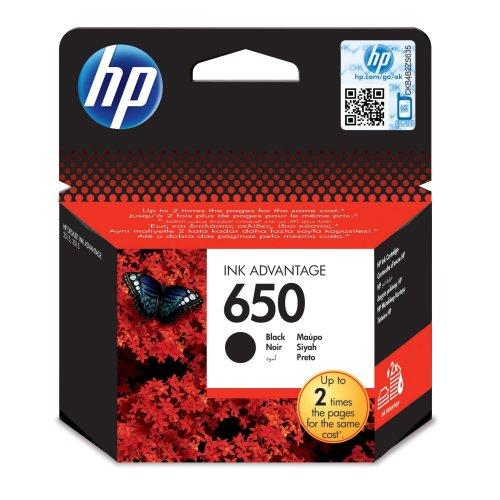 Hp 650 Pigment Black Ink Cartridge