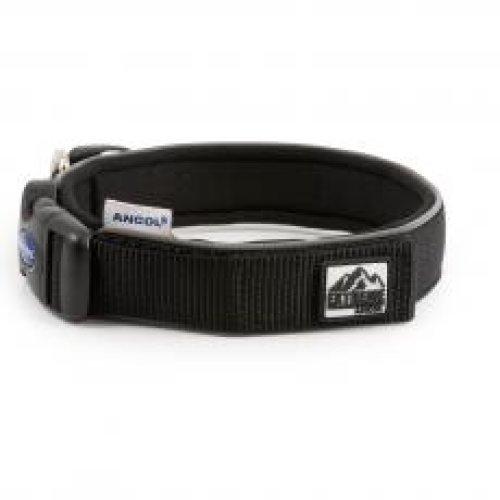 Extreme Nylon Padded Collar Black Size 6 46-54cm