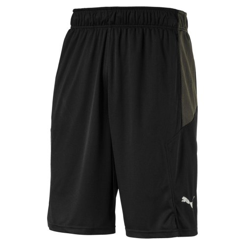 "Puma Energy Knit Mesh 11"" Mens Fitness Training Short Black"