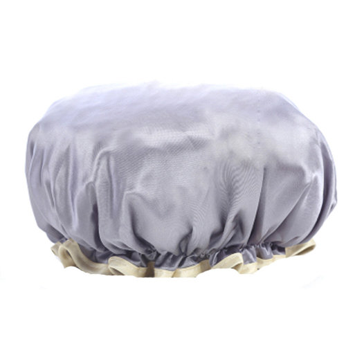 2PCS Shower Cap,Bath Cap-Elastic Band,Extra Large,Won't Fall Off Your Head Designed for Women#O