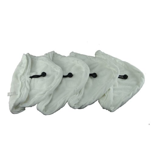 4 X Steam Mop Microfibre Cleaning Cloth Cover Pads Kit Fits Vileda