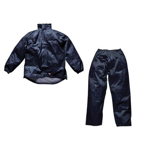 Dickies WP10050 Navy Vermont Waterproof Suit - L 44-46in