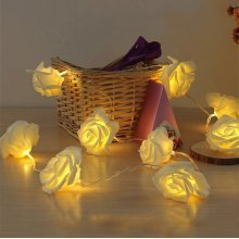 20 LED Rose Flower Fairy String Lights