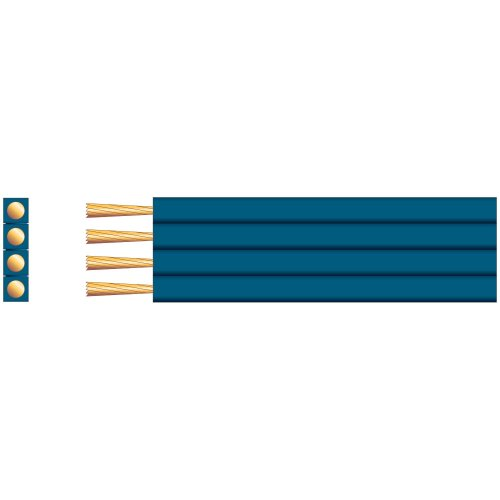 Flat Profile Speaker Cable - Pure Copper