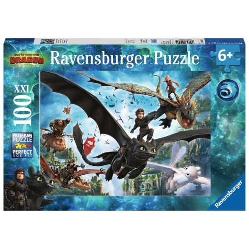 Ravensburger 100 XXL Piece Puzzle How To Train Your Dragon