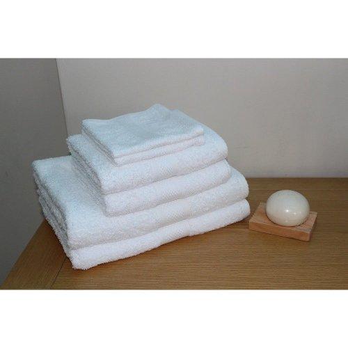 100% Egyptian Cotton 6 Piece 500 Gsm Towel Bale Set - 2 Face Flannels, 2 Hand Towels & 2 Bath Towels