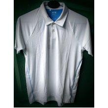 Adidas ClimaLite Boys Golf Tennis Polo Shirt White 10 Years