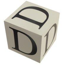 Wooden Block - Letter D