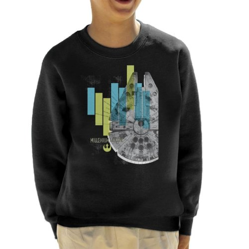 Star Wars Millenniumm Falcon Corellian Light Freighter Kid's Sweatshirt