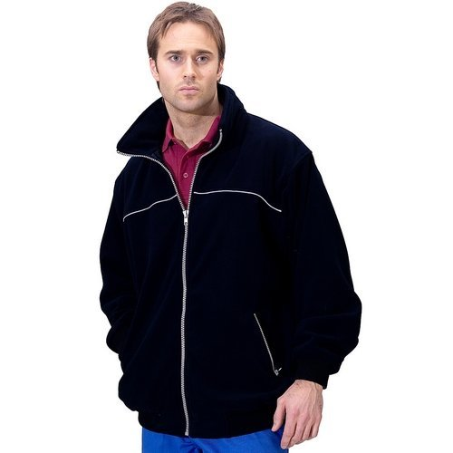 Click EN29BL5XL Endeavour Fleece With Concealed Hood Black 5XL