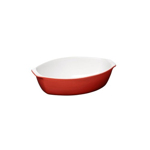Ovenlove Baking Dish, 0.9 Ltr, Red