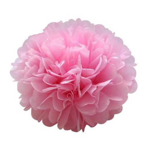 10PCS Hanging Festival Flower Balls for Outdoor&Indoor Birthday Wedding Party Xmas Decoration, #B14