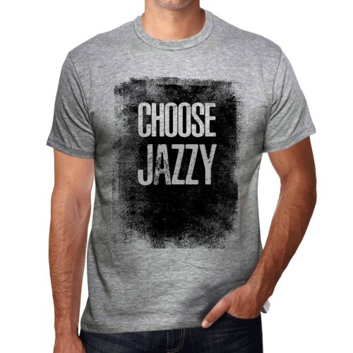 1d63c0e99 Mens Vintage Tee Shirt Graphic T shirt Choose JAZZY Grey Marl on OnBuy