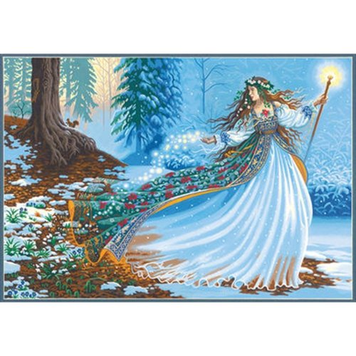 "Dpw91612 - Paintsworks Paint by Numbers 20""x12"" - Woodland Enchantress"