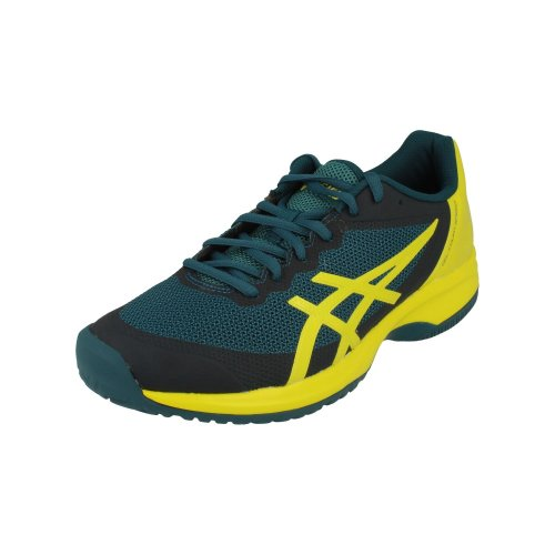 pretty nice 61dcc c591a Asics Gel-Court Speed Mens Tennis Shoes E800N Sneakers Trainers