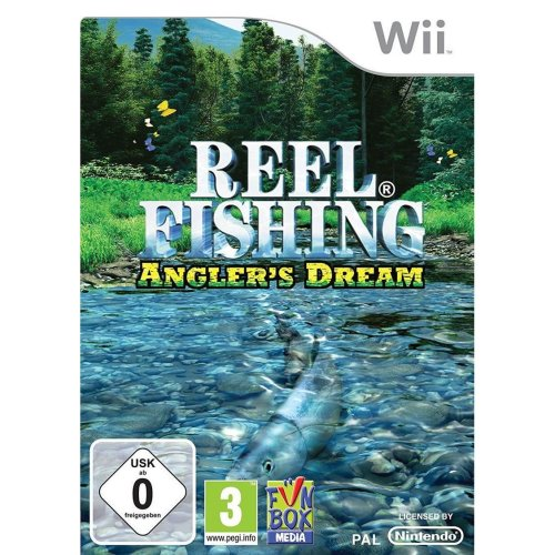 Reel Fishing Anglers Dream Nintendo Wii Game