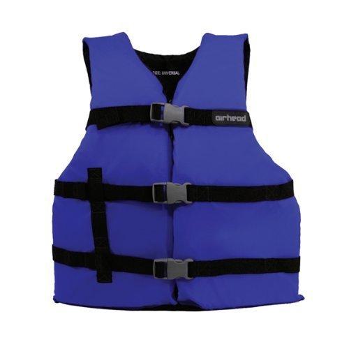 Airhead 10002-16-A-BL Large/XX-Large Nylon Universal Adult Life Vest