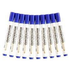 Set Of 10 Marker Fine Point Marking Pen Advertising Pen Writing Brush Blue