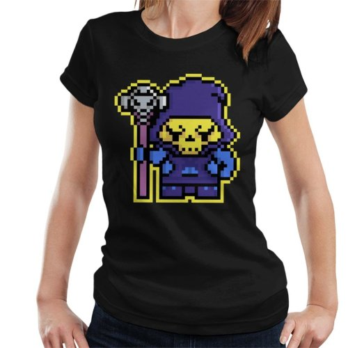Pixel Skeletor Women's T-Shirt