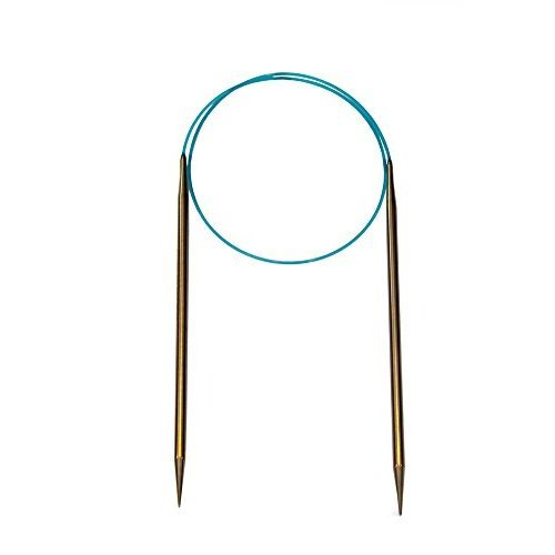 HiyaHiya 16-inch/ 40 cm x 15 mm Sharp Stainless Steel Fixed Circular Needle
